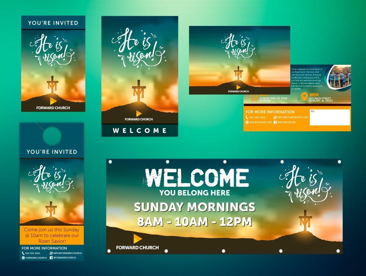 Church Outreach Design
