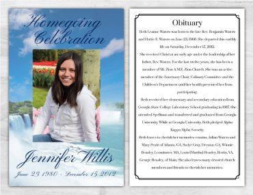 Funeral Program 1007