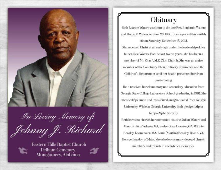 Funeral Program 1024