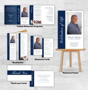 Funeral Program Combo Pack 1072
