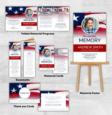 Funeral Program Combo Pack 1094