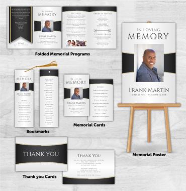 Funeral Program Combo Pack 2001