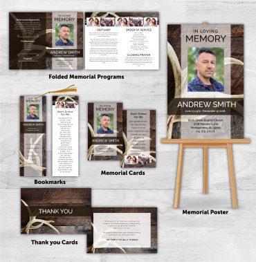 Funeral Program Combo Pack 1087